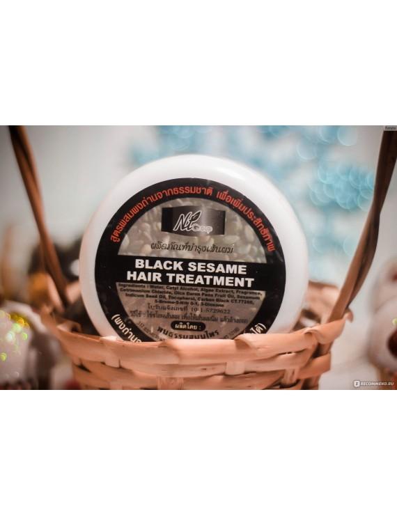 "Thai mask for dark hair NT-Group ""Black sesame, spirulina and vitamin E"""