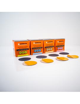 "Pedicure discs ""L"", Ø25mm,100 grit / 50pcs by Kerman"