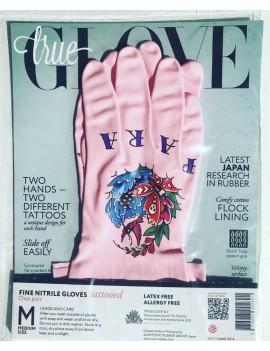 "TrueGlove ""L"" Pink Nitrile glove"